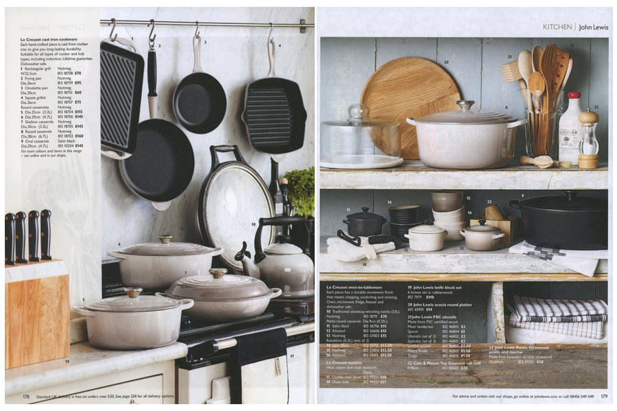 Annabel's House - tearsheet for John Lewis