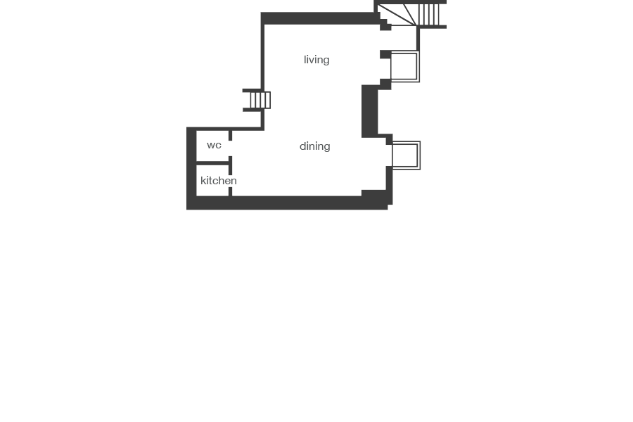 Balham House - floorplan