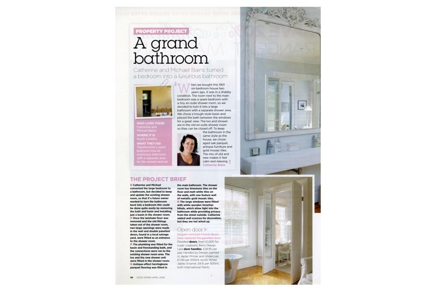 Balham House - tearsheet for Good Homes