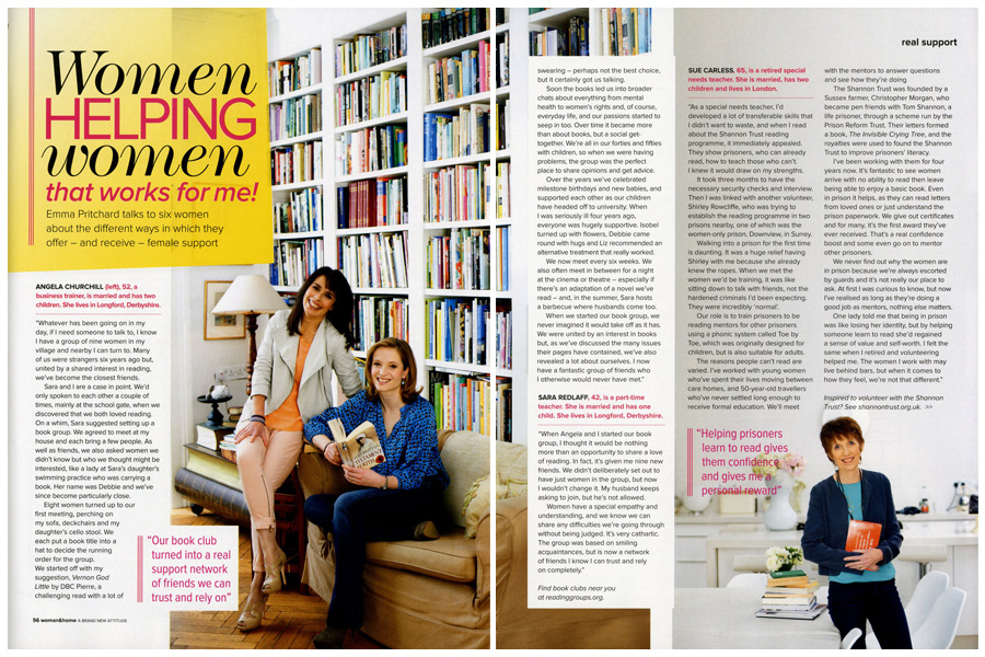 Balham House - tearsheet for Woman & Home