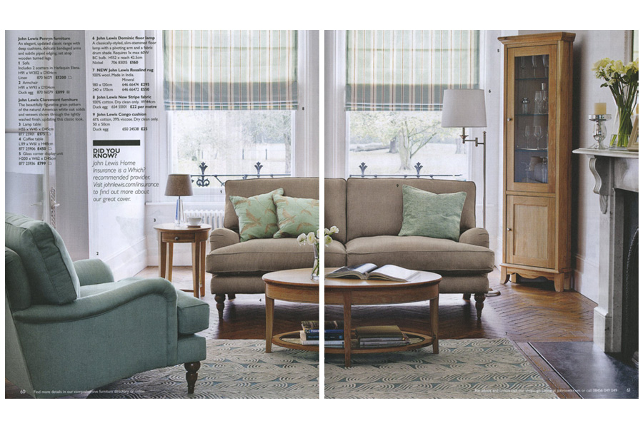 Balham House - tearsheet for John Lewis