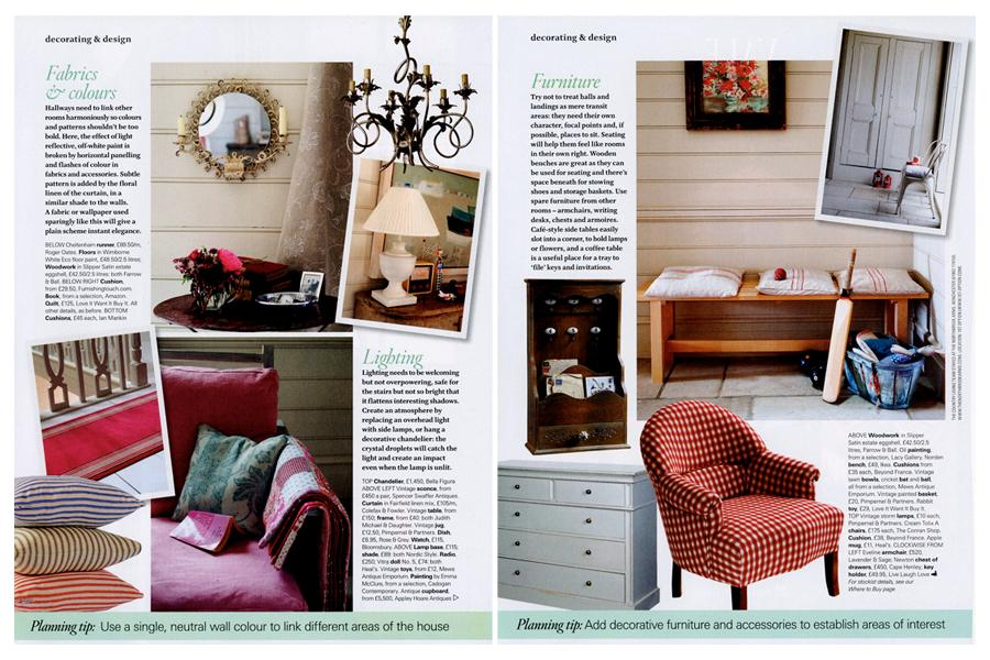 Bazeley House - tearsheet for Country Living