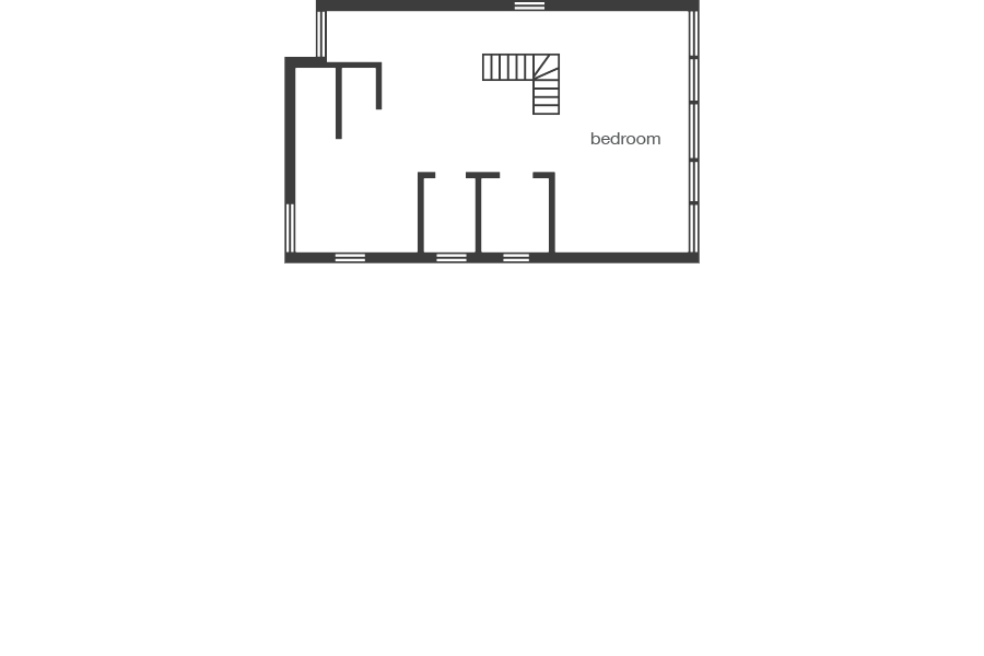 The Beach House - floorplan