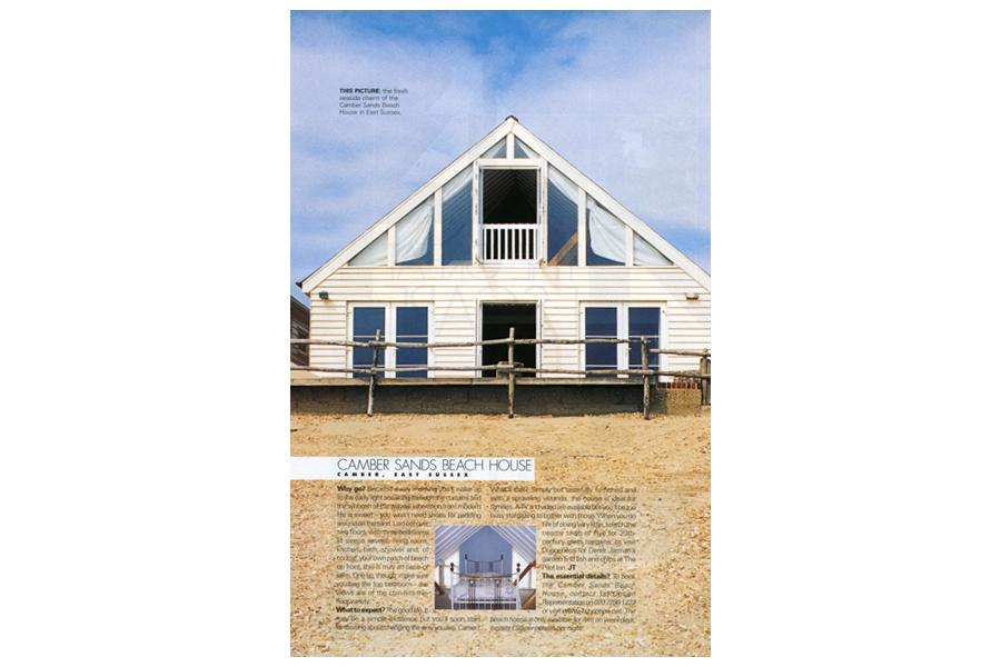 The Beach House - tearsheet for Elle Deco