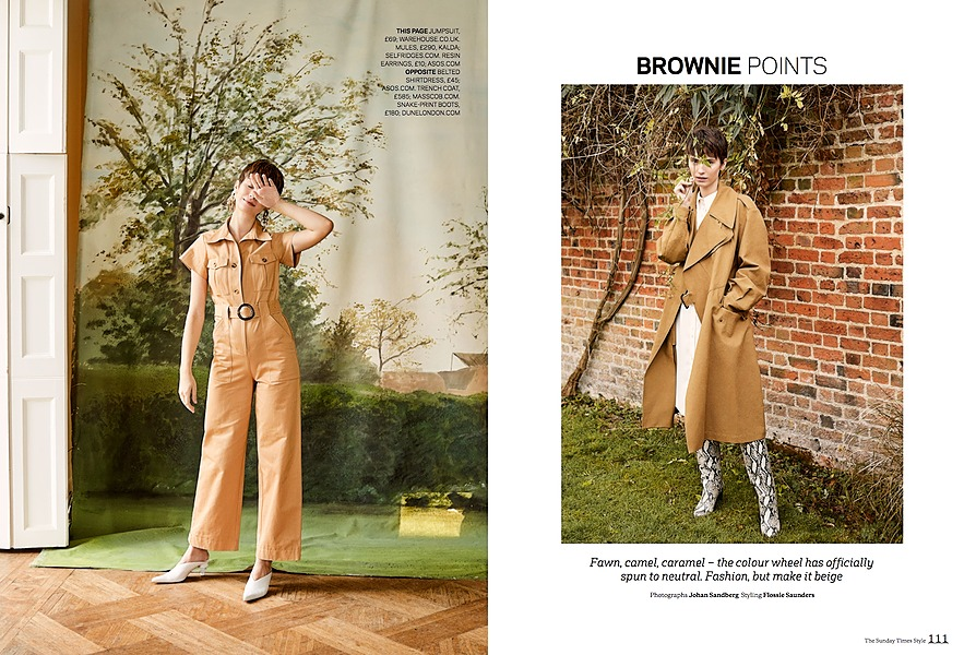 Bell House - tearsheet for Sunday Times Style