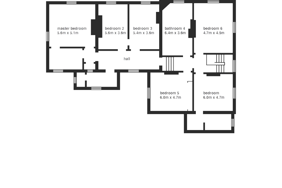 Belmont House - floorplan