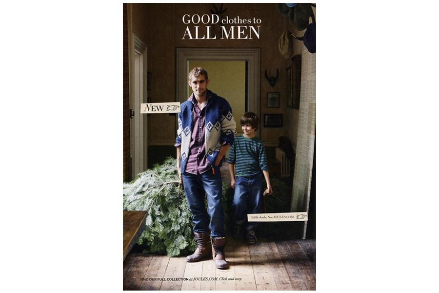 Belmont House - tearsheet for Joules
