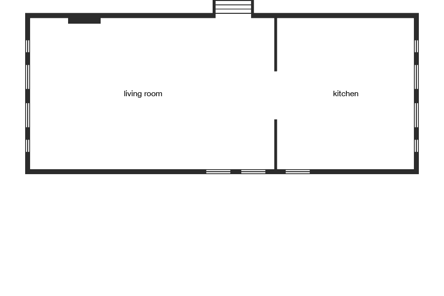 Blake House - floorplan