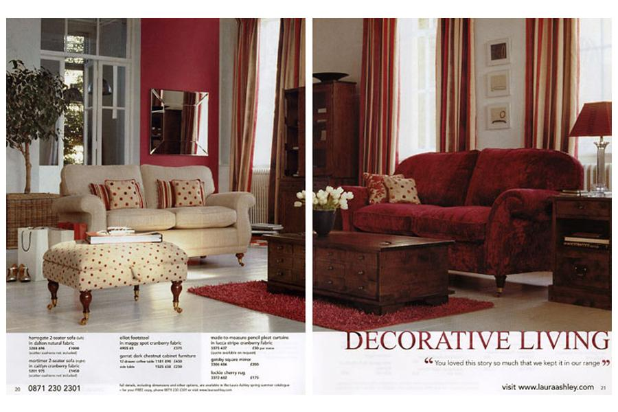 Blake House - tearsheet for Laura Ashley
