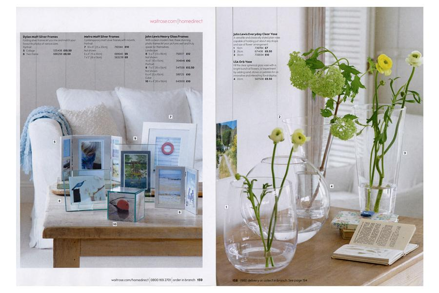The Boathouse - tearsheet for Waitrose