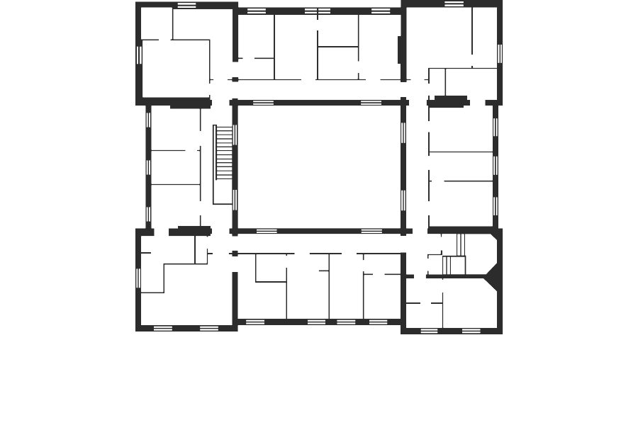 Boston Manor - floorplan