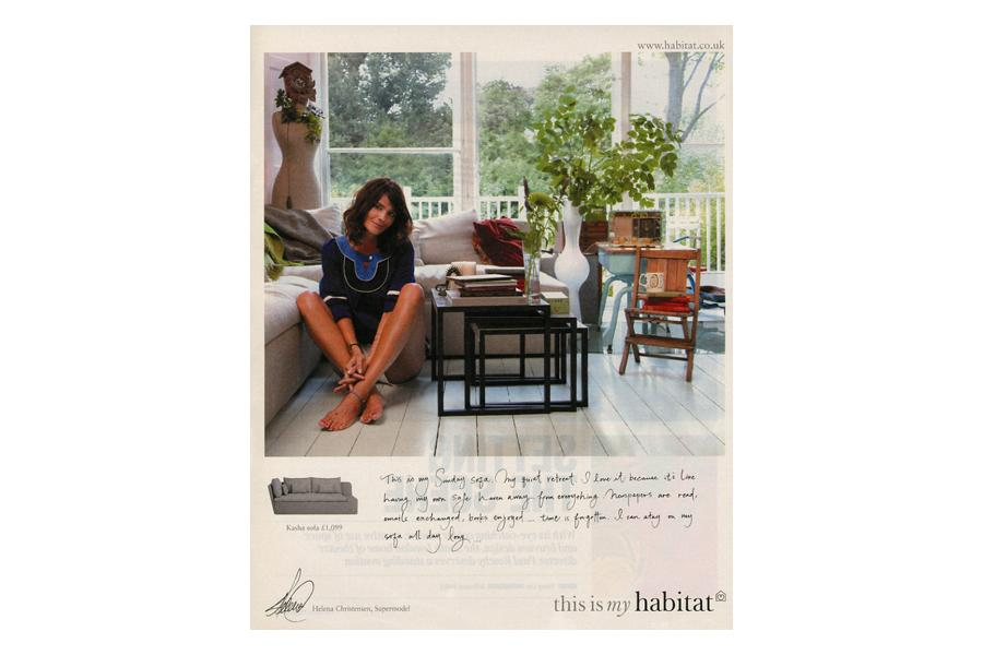 Broadhurst Gardens - tearsheet for Habitat