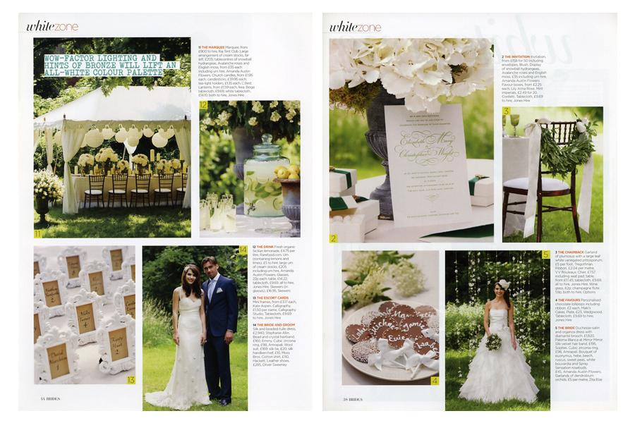 Broadhurst Gardens - tearsheet for Brides
