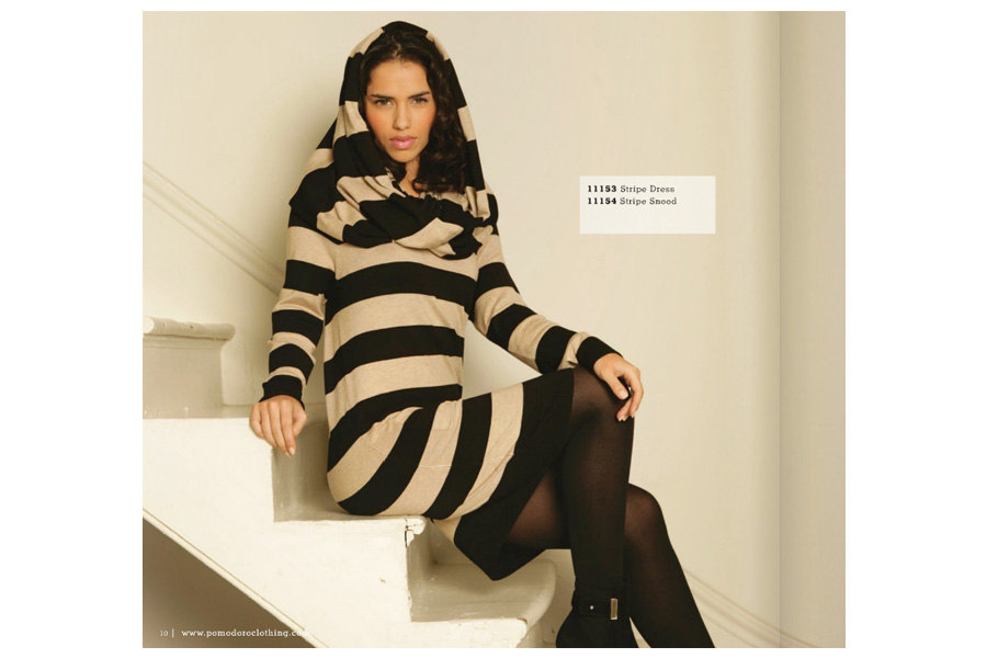 Chesterton Road - tearsheet for Pomodoro Clothing