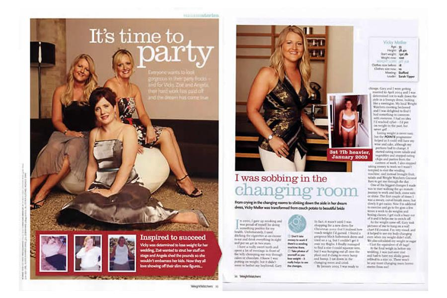 Dingley Place - tearsheet for Weightwatchers Magazine