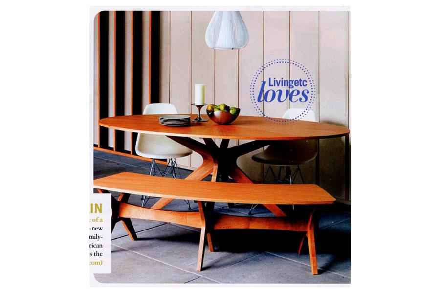 Dingley Place - tearsheet for Living etc