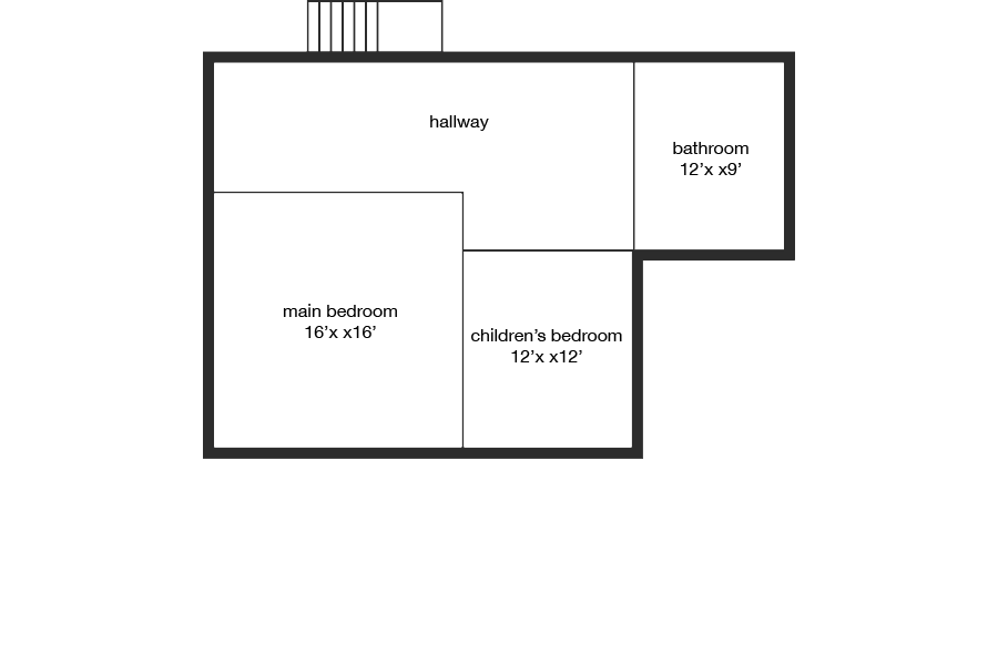 Dyne Road - floorplan