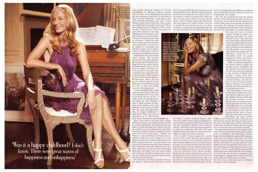 Fournier Street - tearsheet for ES Magazine