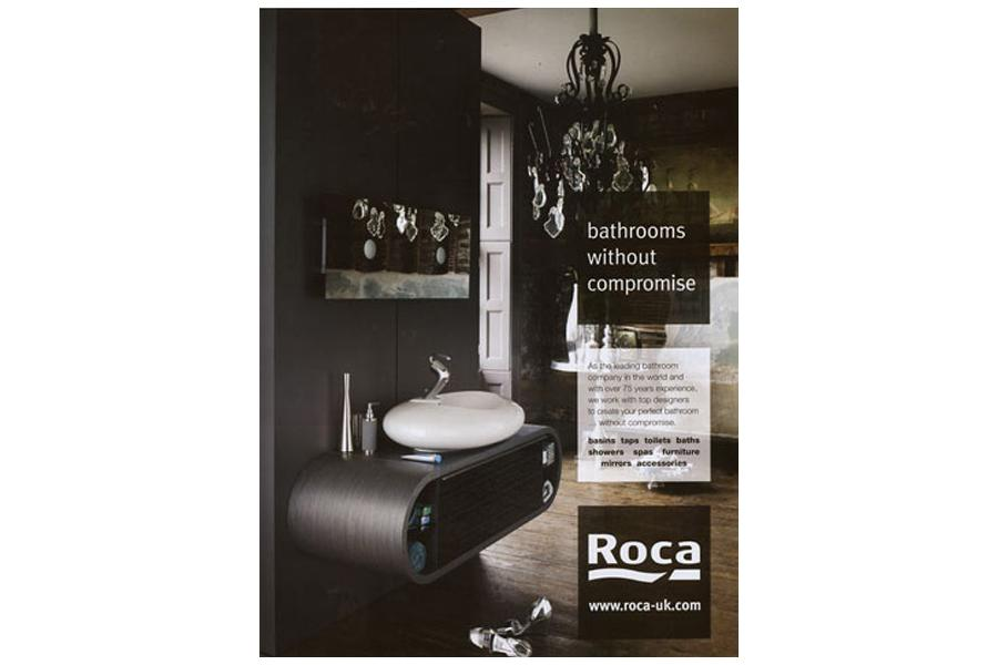 Henry VIII Boathouse - tearsheet for Roca