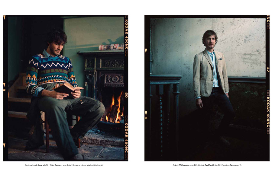 Henry VIII Boathouse - tearsheet for GQ (Turkey)