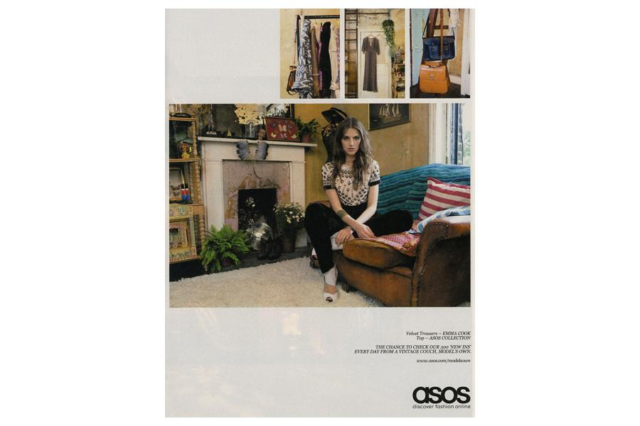 The House - tearsheet for ASOS