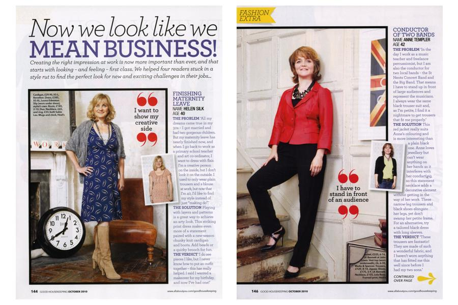 The House - tearsheet for Good Housekeeping
