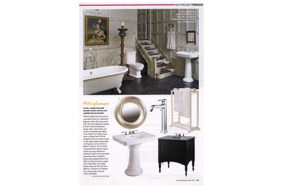 The House - tearsheet for House Beautiful