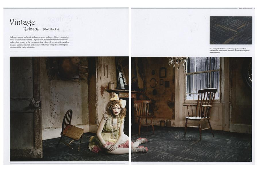 The House - tearsheet for Interface Flor