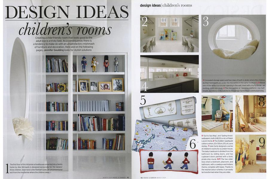 Lightbox - tearsheet for House & Garden