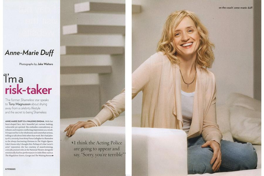 Lightbox - tearsheet for Psychologies