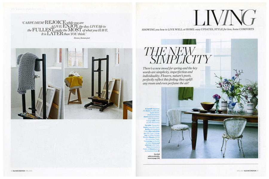 Lightbox - tearsheet for Elle Deco