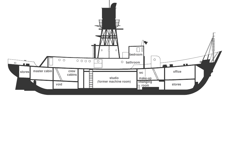 Lightship 93 - floorplan