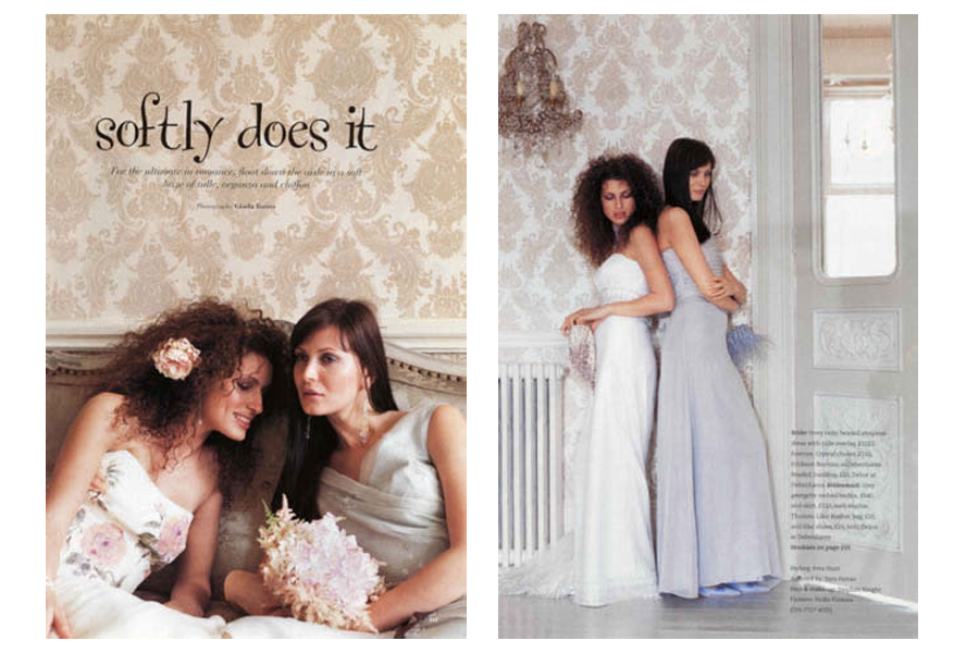 Mapesbury Road - tearsheet for You & Your Wedding