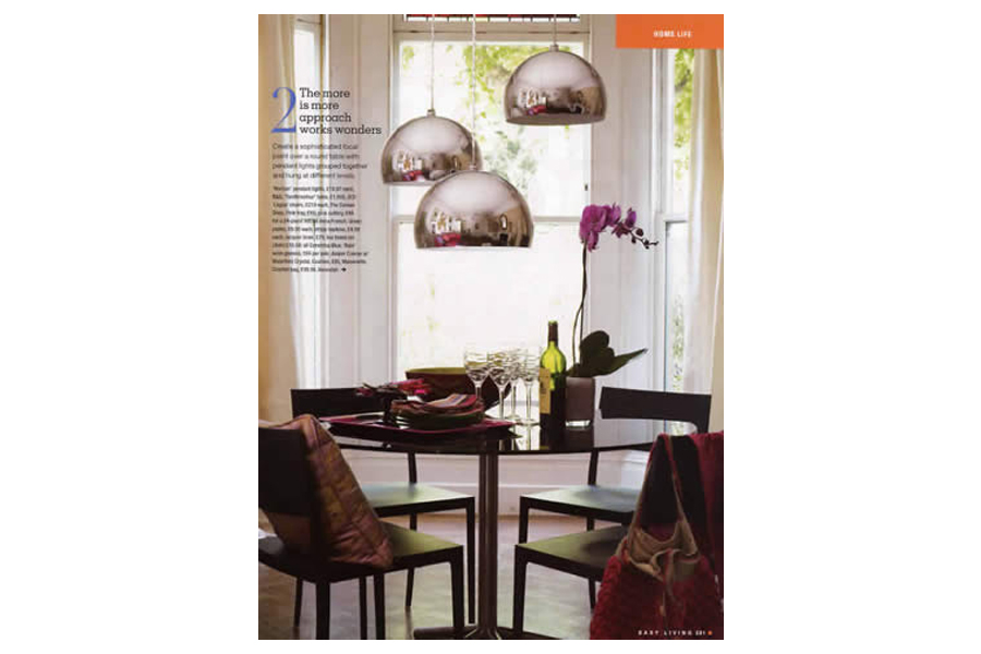 Mapesbury Road - tearsheet for Easy Living