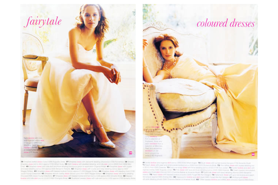 Mapesbury Road - tearsheet for Wedding Magazine