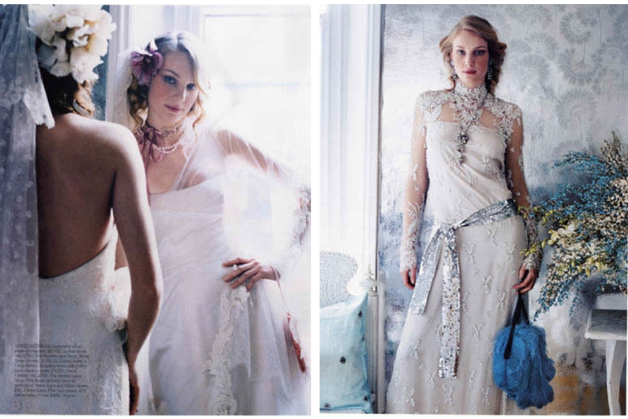 Mapesbury Road - tearsheet for Brides