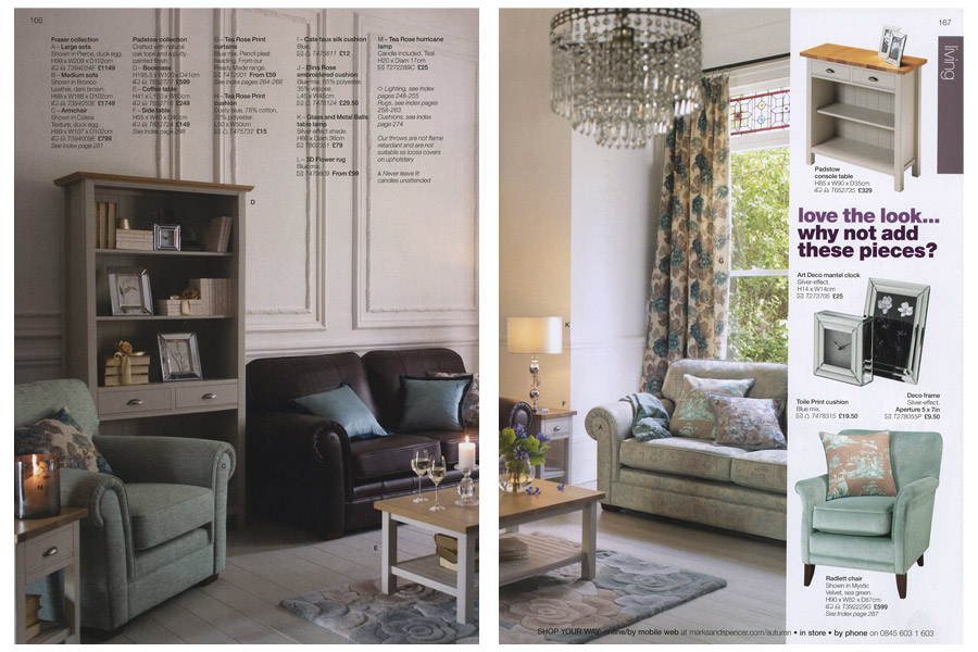 Mapesbury Road - tearsheet for Marks & Spencer