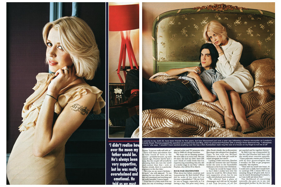 Mapesbury Road - tearsheet for Hello