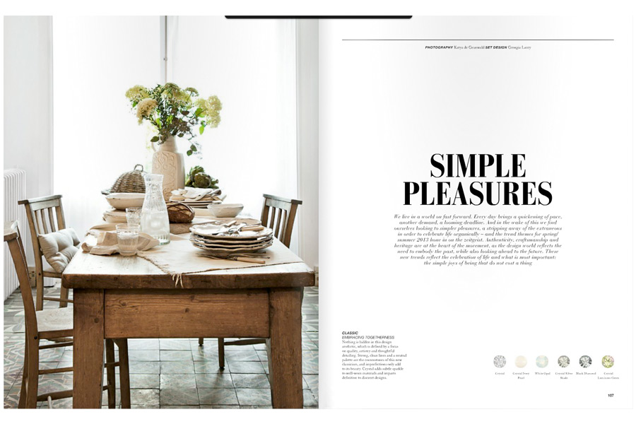 Mapesbury Road - tearsheet for Salt Magazine