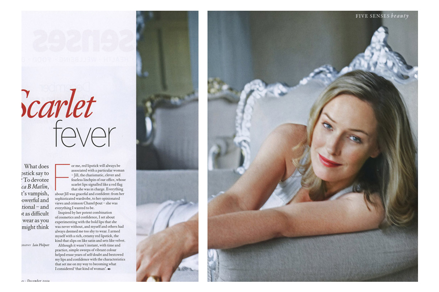 Oriel - tearsheet for Psychologies