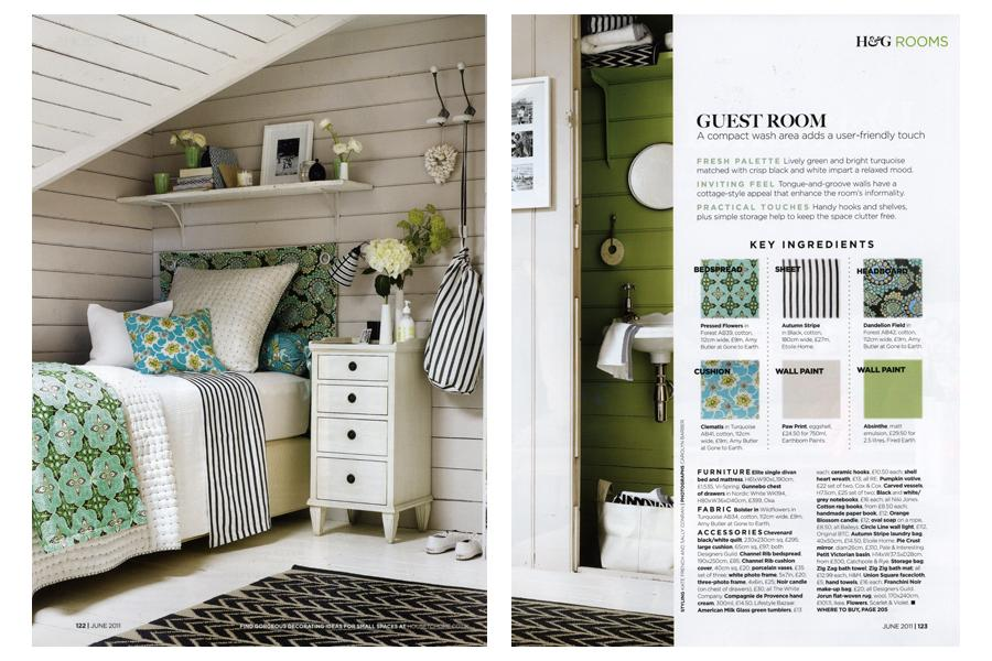 Palace Road - tearsheet for Homes & Gardens