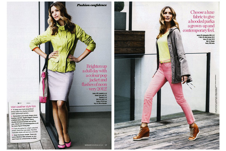 Parkview - tearsheet for Woman