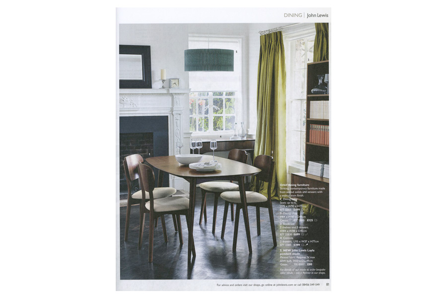 Petersham Common - tearsheet for John Lewis