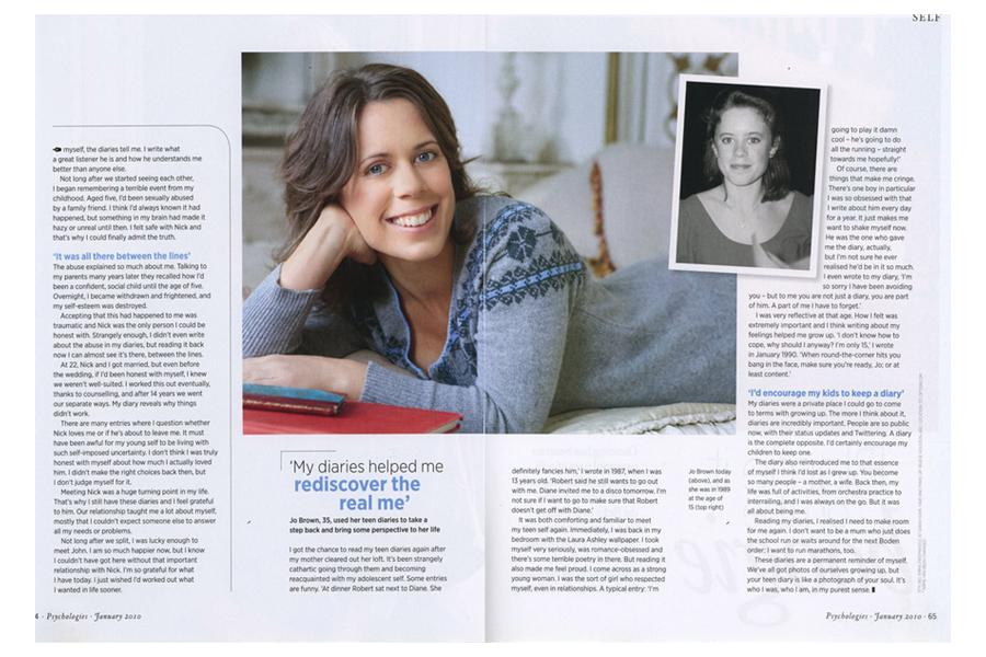 Richmond Road - tearsheet for Psychologies
