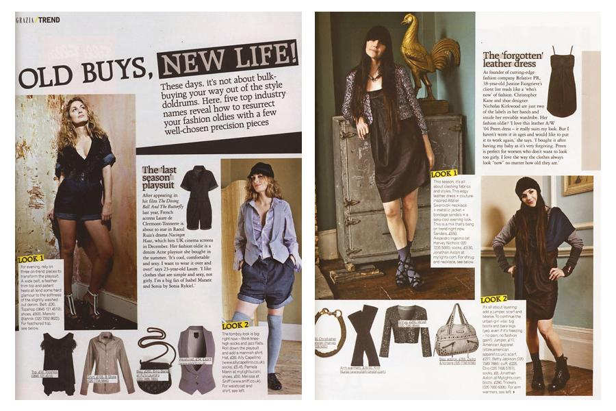 The Roost - tearsheet for Grazia