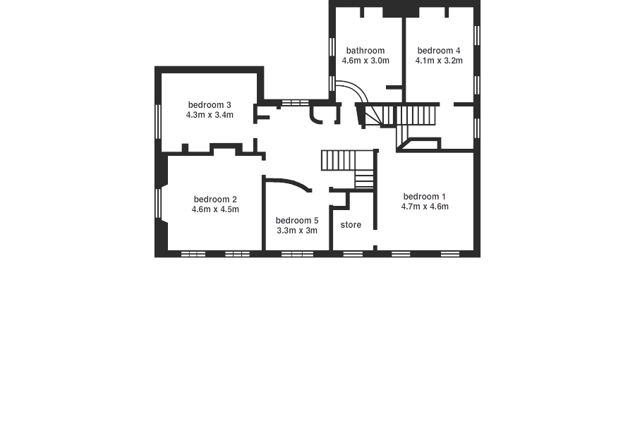 Rose Villa - floorplan