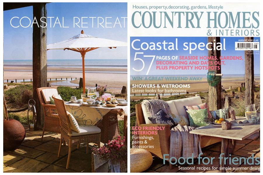 Seascape - tearsheet for Country Homes & Interiors
