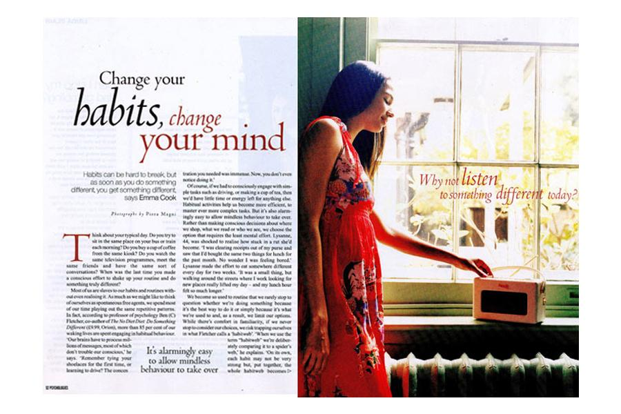 Southgate - tearsheet for Psychologies
