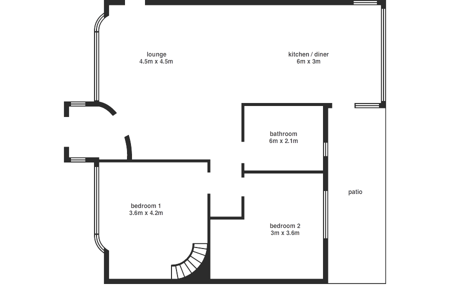 Sputnik - floorplan