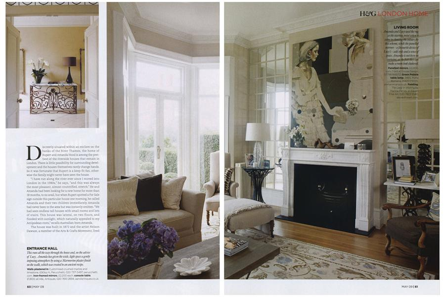 Staithe House - tearsheet for Homes & Gardens